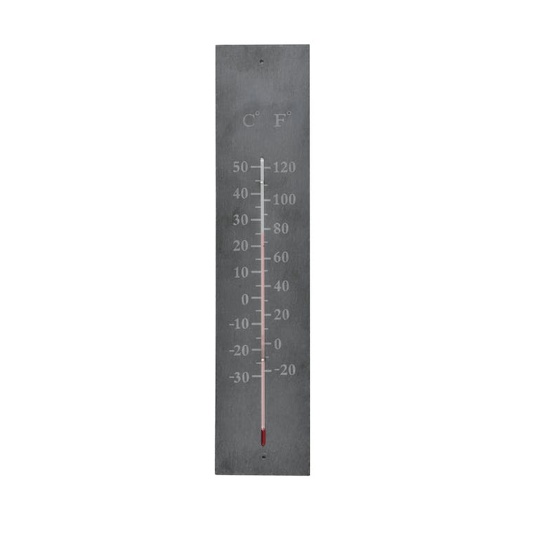 Slate Wall Thermometer| Garden Trading