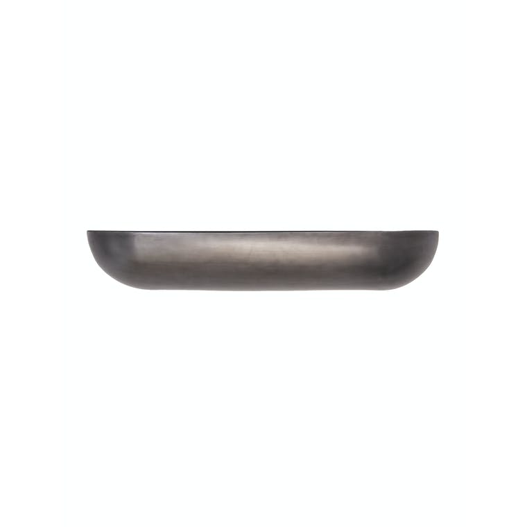 Metal Wall Trough Planter in Small or Large | Garden Trading
