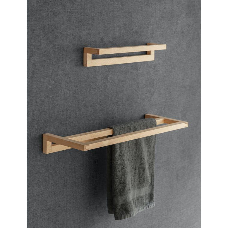 Wooden Southbourne Towel Rail in Single or Double | Garden Trading