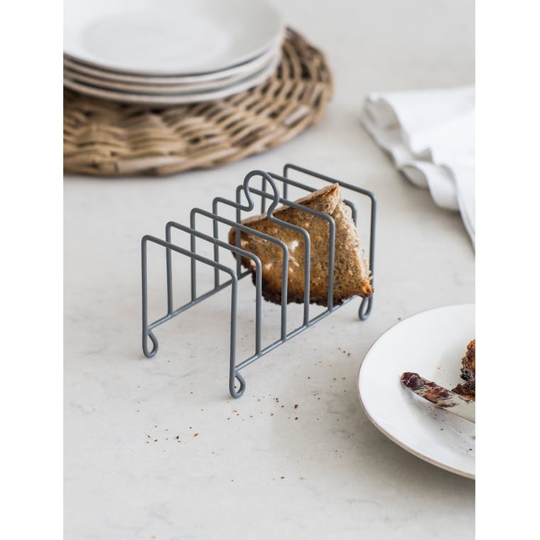 Toast Rack in Grey | Garden Trading