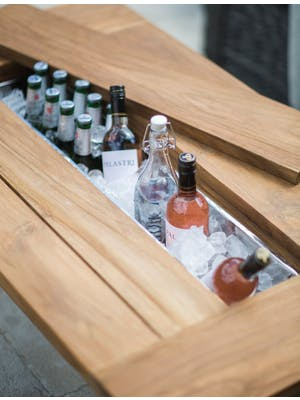 Drinks/Planter Trough