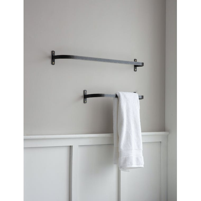 Steel Farringdon Towel Rail in Small or Large | Garden Trading