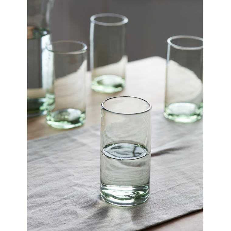 Set of 4 Wellow Tumblers, Tall by Garden Trading