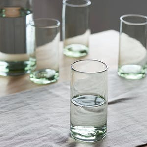 Set of 4 Wellow Tumblers