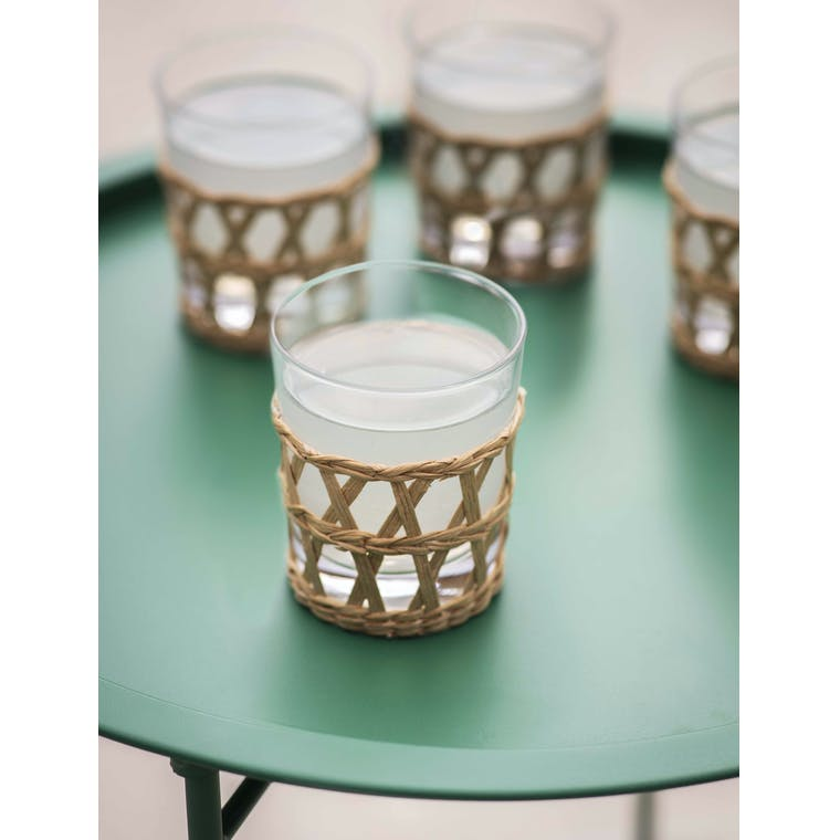 Garden Trading Set of 4 Portmore Tumblers in Natural