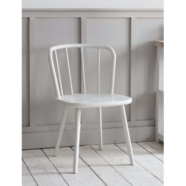 Garden Trading Uley Chair in Lily White