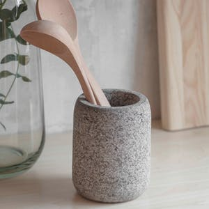 Granite Utensil Holder