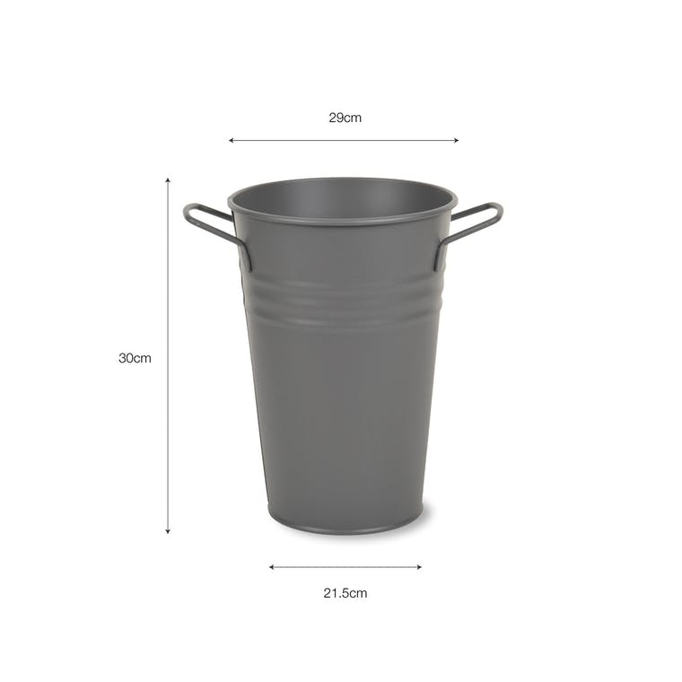 Steel Florist Bucket in Small, Medium or Large | Garden Trading