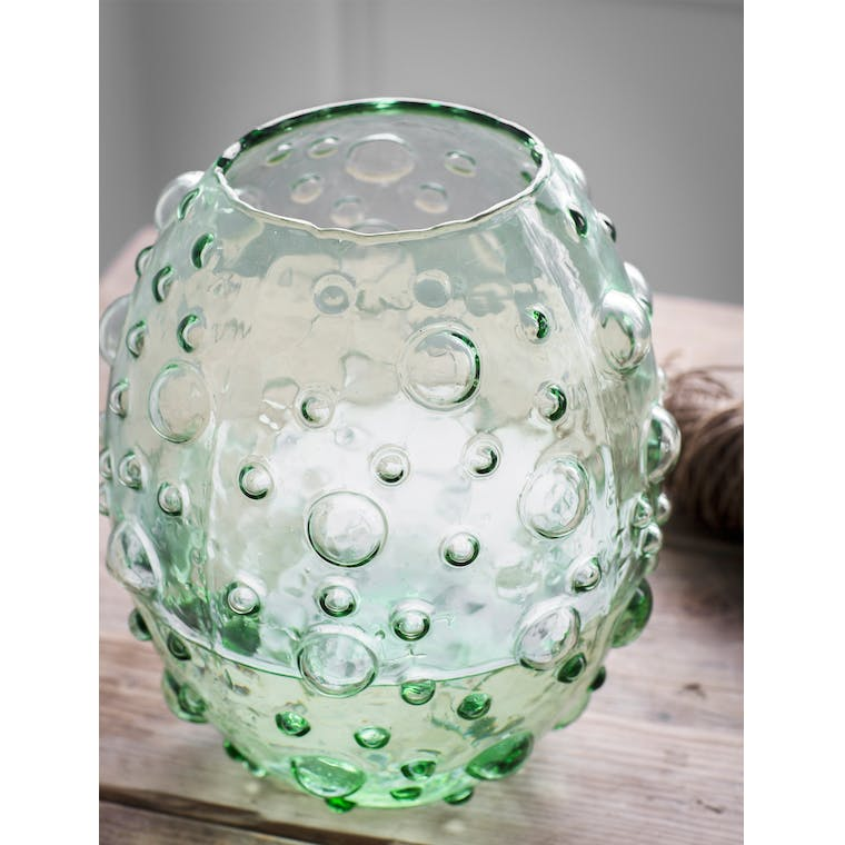 Glass Berriedale Vase in Round or Tall | Garden Trading