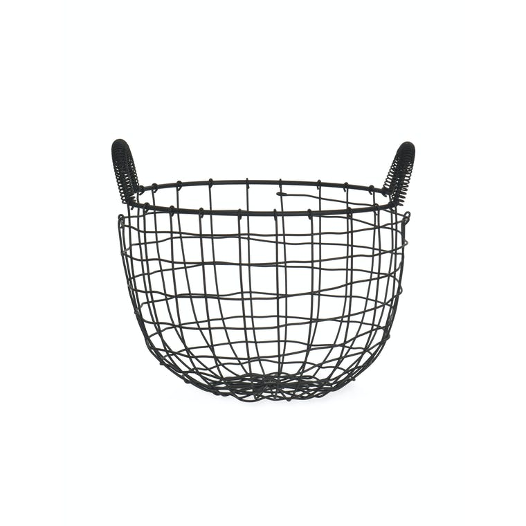 Wirework Storage Basket in Small or Large | Garden Trading