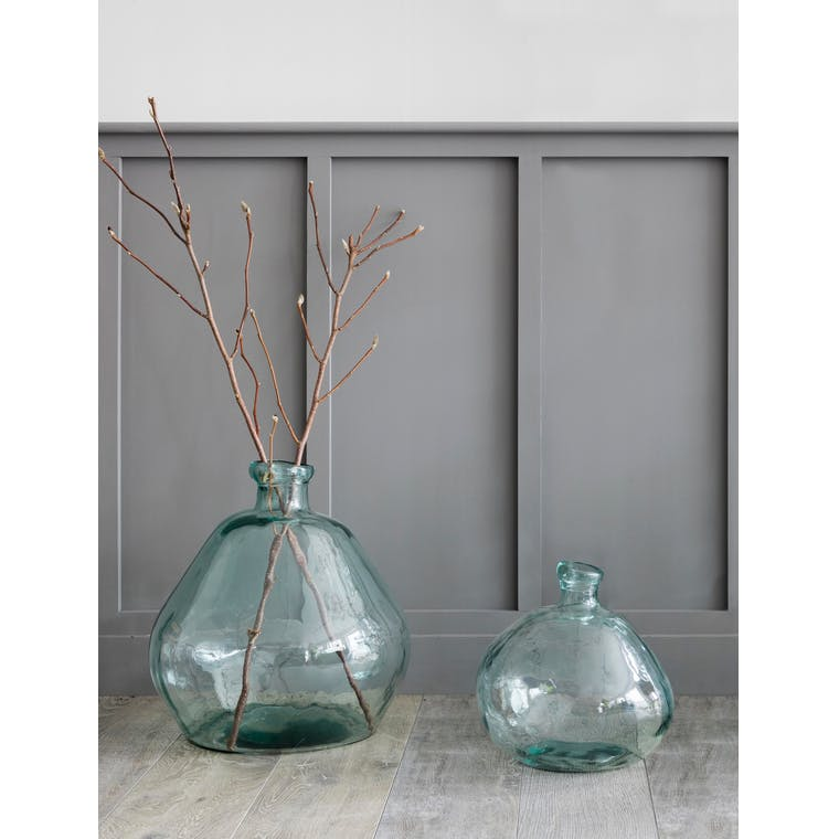 Recycled Glass Wells Bubble Vase in Large or XXL | Garden Trading