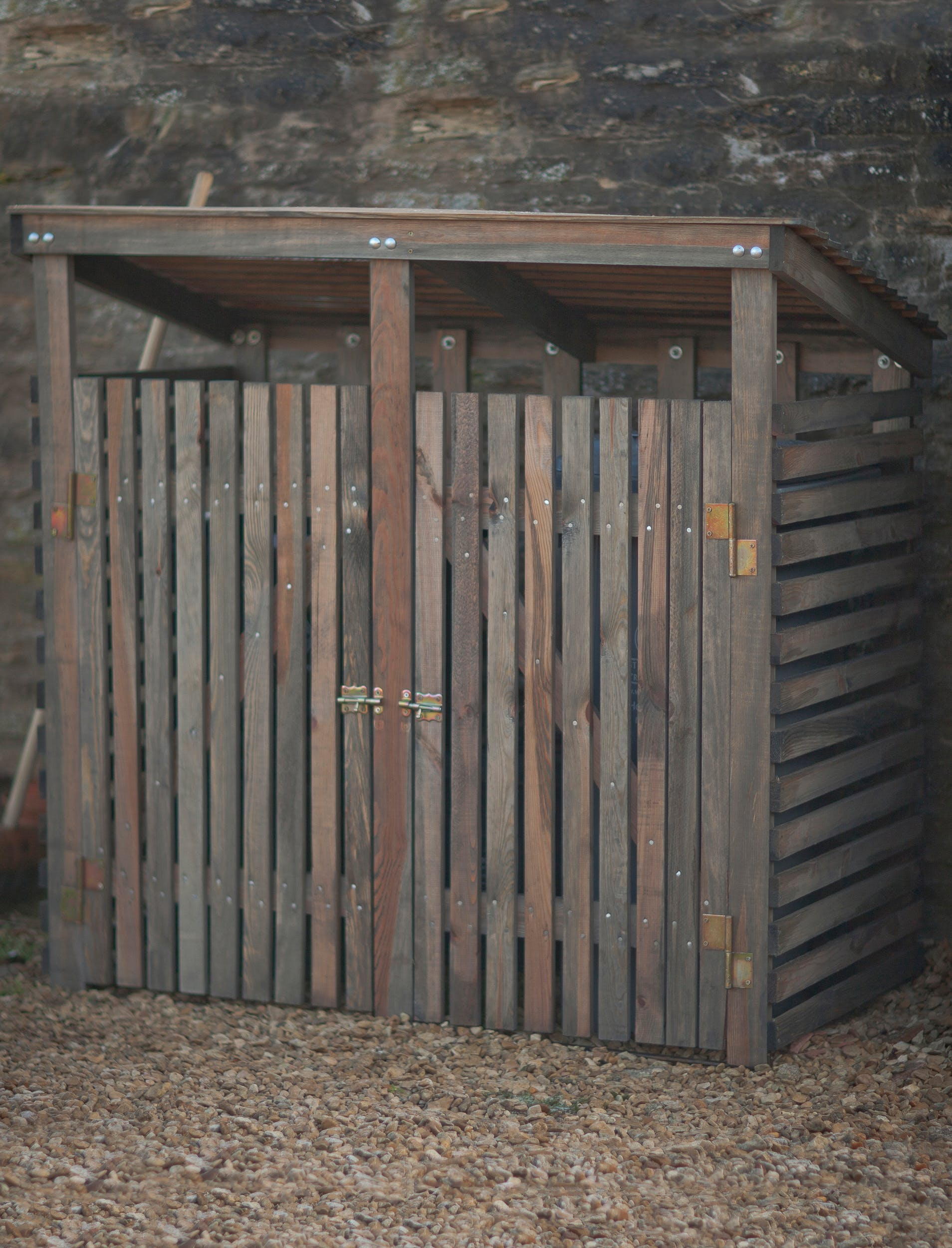 Wooden Wheelie Bin Cover in Small or Large  | Garden Trading
