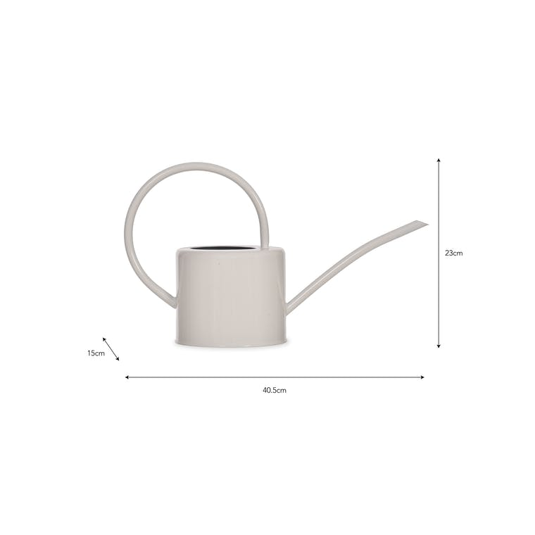 1.9 Litre Watering Can in Silver, White or Green | Garden Trading