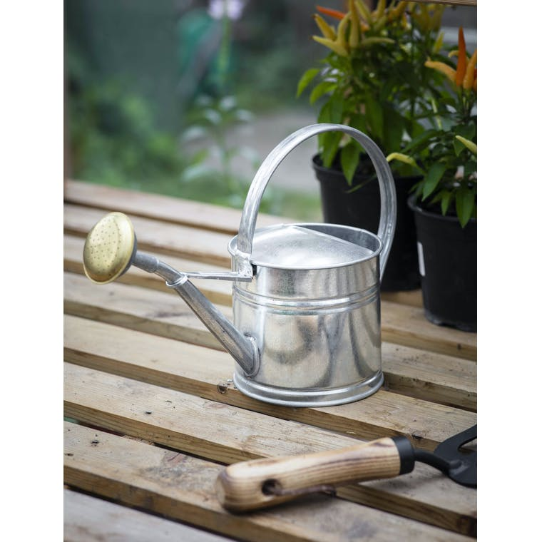 Garden Trading 1.5L Watering Can - Galvanised Steel