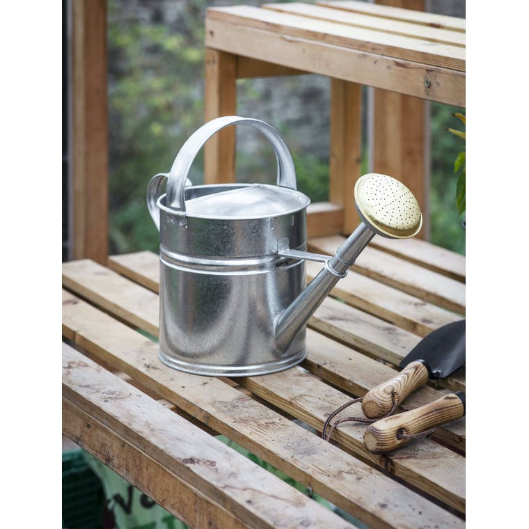 Garden Trading 5L Watering Can - Galvanised Steel