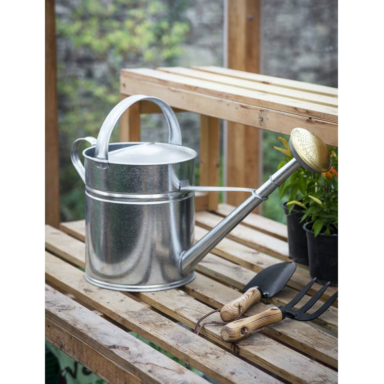 Garden Trading 10L Watering Can - Galvanised Steel