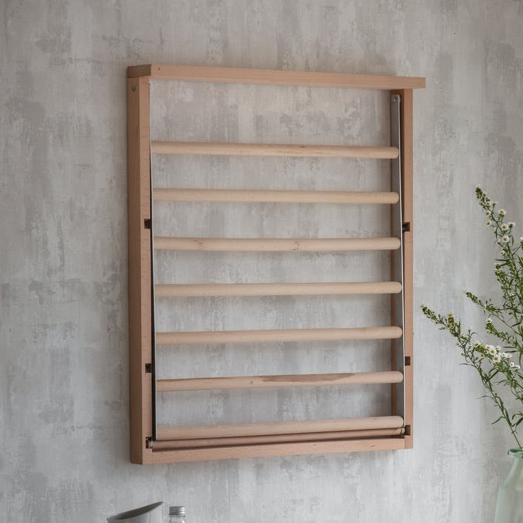 Wooden Chalford Wall Dryer | Garden Trading