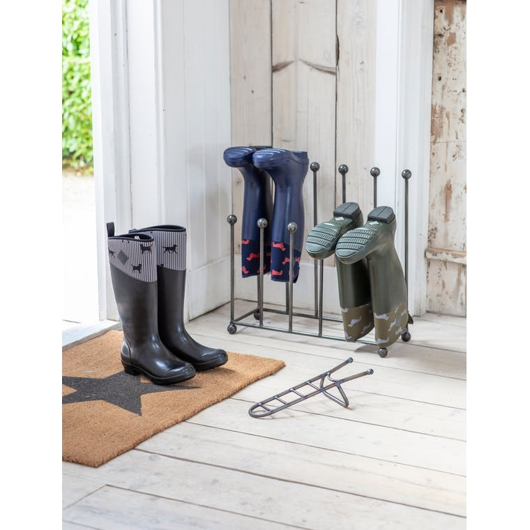 Metal Farringdon Welly Stand | Garden Trading