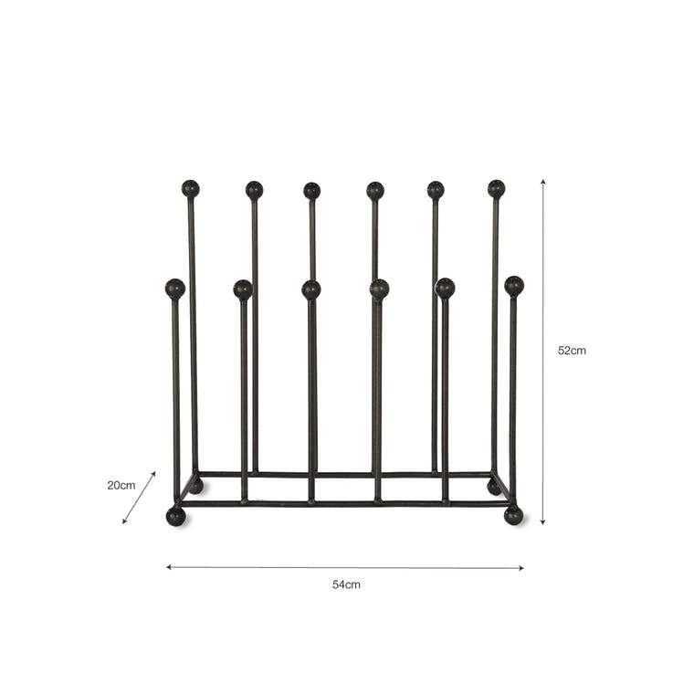 Steel Farringdon Welly Stand in Small or Large | Garden Trading