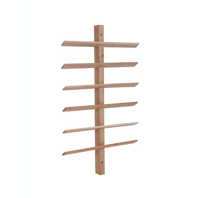 Raw Oak Hambledon Wine Rack in 8, 12 or 24 Bottle | Garden Trading