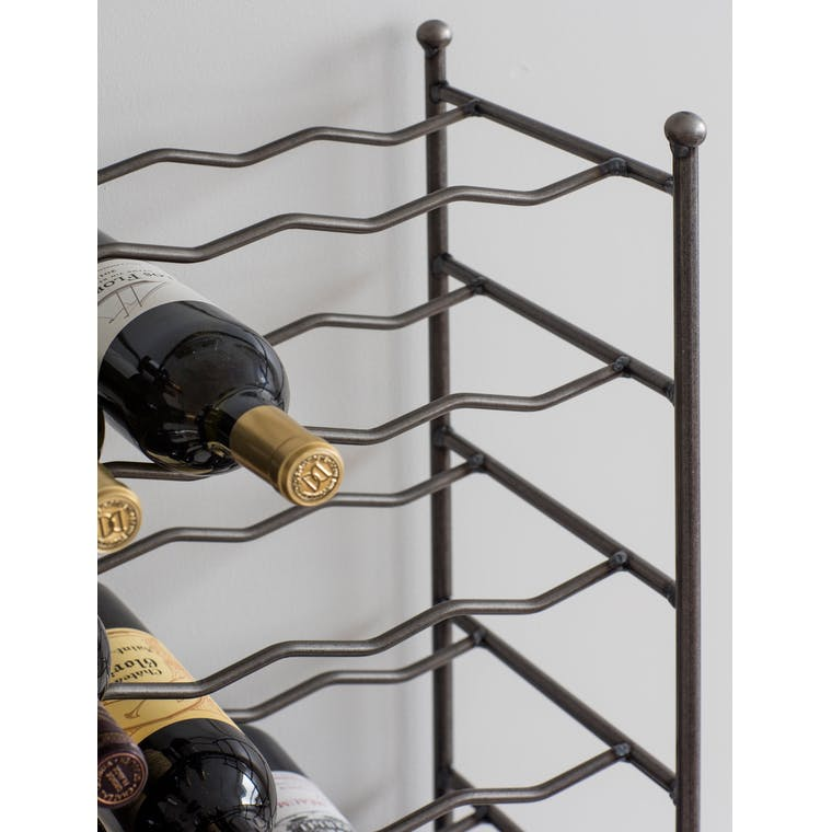 Metal Large Farringdon Wine Rack | Garden Trading