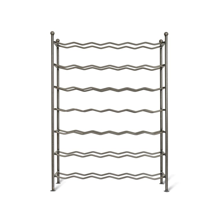 Metal Farringdon Wine Rack | Garden Trading