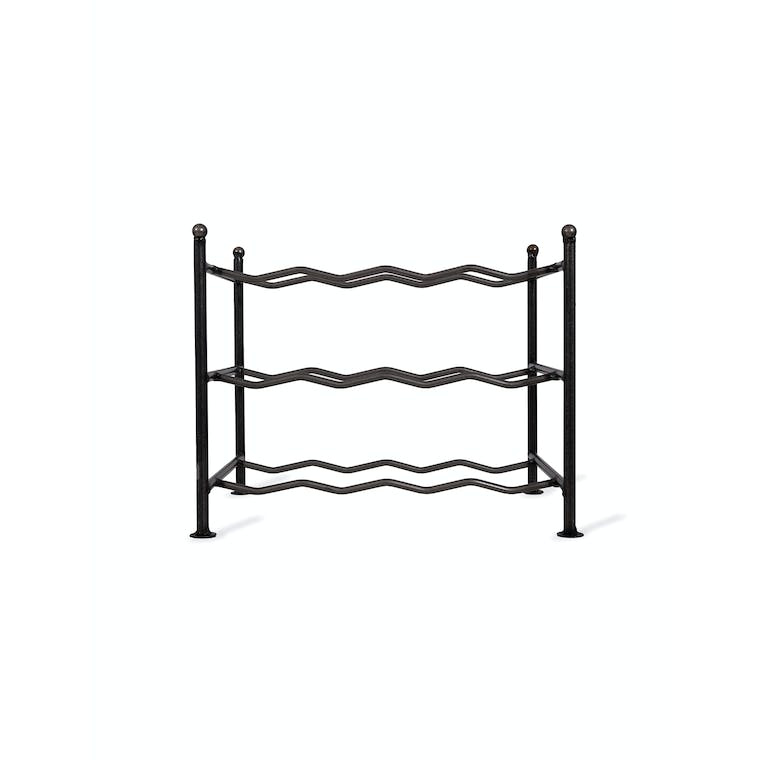 Steel Farringdon Wine Rack Small | Garden Trading