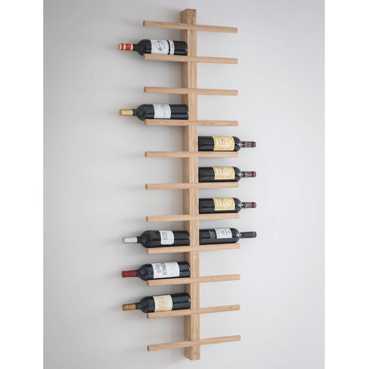 Raw Oak Woodstock Wine Rack - Raw Oak  | Garden Trading