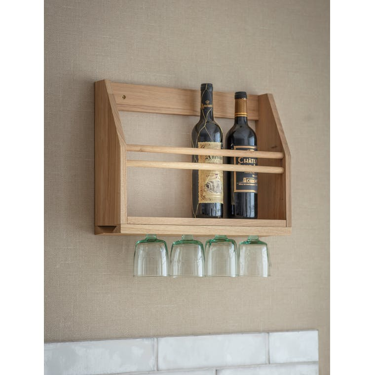 Garden Trading Hambledon Wine Glass Shelf
