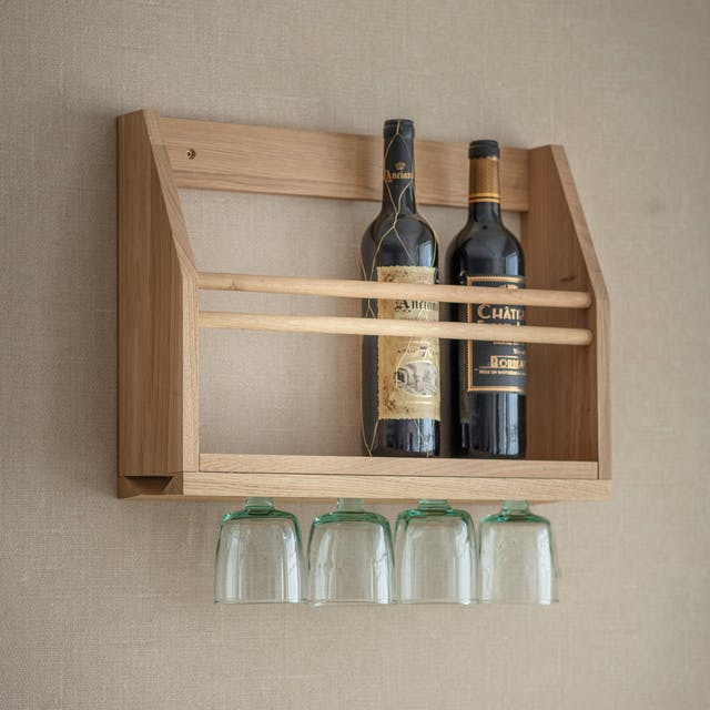 Hambledon Wine Glass Shelf