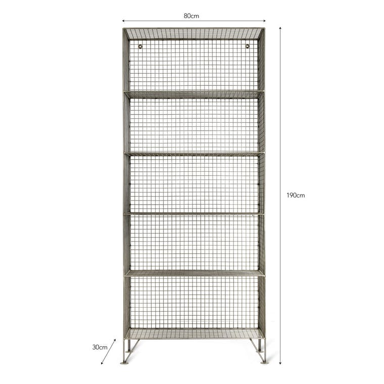 Mesh Portobello Shelving Unit in Small or Large | Garden Trading